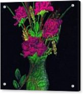 One More Rose Acrylic Print