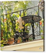One Morning In New Orleans Acrylic Print