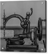 One Of The First Sewing Machines Acrylic Print