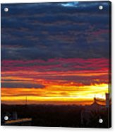 One Of The Prettiest Sunrises Acrylic Print