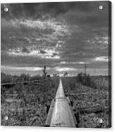 One Rail Acrylic Print