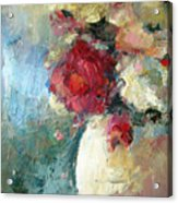 One Red Rose Acrylic Print