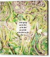 One Wish - Verse Acrylic Print