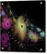 One World No.6 - Fractal Art Acrylic Print