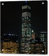 One World Trade Center In New York City  Acrylic Print
