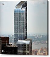 One57 And Park Hyatt Hotel In Nyc Acrylic Print