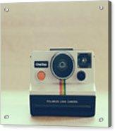 Onestep Polaroid Acrylic Print