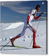 Online Winter Sports Equipment Acrylic Print