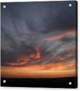 Only God Can Make A Sunset Acrylic Print