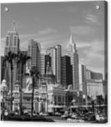 Only In Vegas Acrylic Print