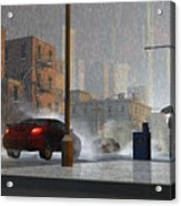 Only When It Rains Acrylic Print