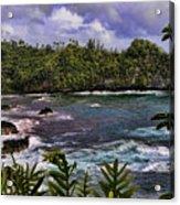 Onomea Bay Hawaii Acrylic Print