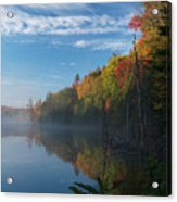 Ontario Autumn Scenery Acrylic Print