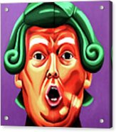 Oompa Loompa Trump Acrylic Print