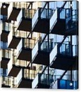Tiered Balconies Acrylic Print
