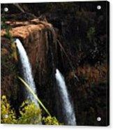 Opaekaa Falls Acrylic Print