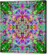 Opal Yantra Acrylic Print