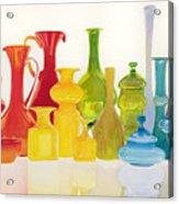 Opaque Glass Transparent Watercolor Acrylic Print
