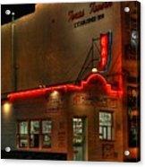 Open All Nite-texas Tavern Acrylic Print