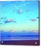 Open Beach Ponce Inlet Atlantic Ocean Acrylic Print