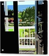 Open Door Acrylic Print