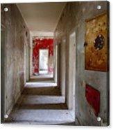 Open Doors - Abandoned Building Acrylic Print