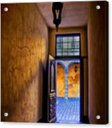 Open Doorway Acrylic Print