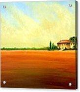 Open Field Acrylic Print