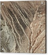open pit mine Kennecott, copper, gold and silver mine operation Acrylic Print