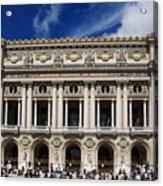 Opera Garnier. Paris. France Acrylic Print