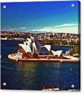 Opera House Sydney Austalia Acrylic Print