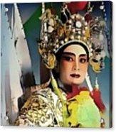 Opera Warrior Acrylic Print