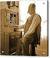 Operator Acrylic Print
