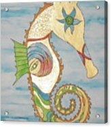 Ophelia The Seahorse Acrylic Print