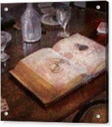Ophthalmologist - The Poker Game Acrylic Print