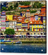 Oporto By The River Acrylic Print