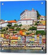 Oporto Riverfront Acrylic Print