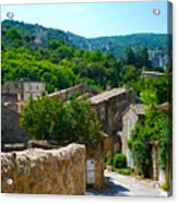 Oppede France - Street View Acrylic Print