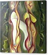 Opposite Acrylic Print