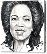 Oprah Winfrey  Acrylic Print