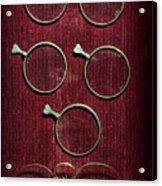 Optician - Optometrist Lens Acrylic Print