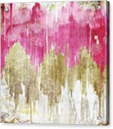 Opulence Rose Acrylic Print