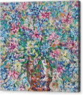 Opulent Bouquet. Acrylic Print