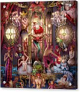 Oracle Of Visions Party  Acrylic Print
