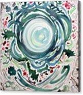 Oracular Yule Wreath Acrylic Print