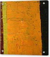 Orange And Brown Acrylic Print