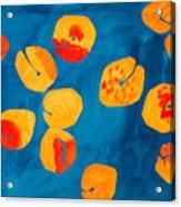 Orange Apricots Acrylic Print
