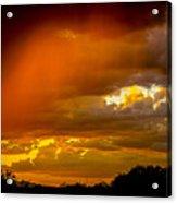 Orange Arizona Acrylic Print