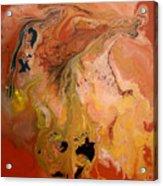 Orange-brown Series No. 1 Acrylic Print