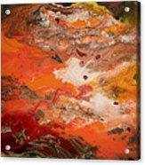 Orange-brown Series No. 3 Acrylic Print